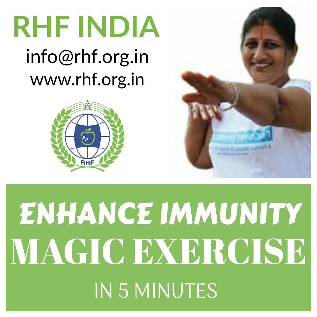 Why is magic exercise done just 5 minutes is a boon for health?